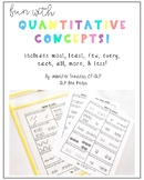 Quantitative Concepts Activity