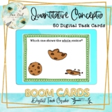 Quantitative Concepts BOOM Cards – Speech Therapy Distance Learning