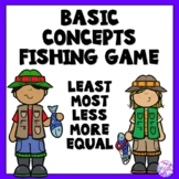FREE Fishing Game (Least, most, less, more and equal)