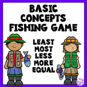 Quantitative Fishing Game (Least, most, less, more and equal)