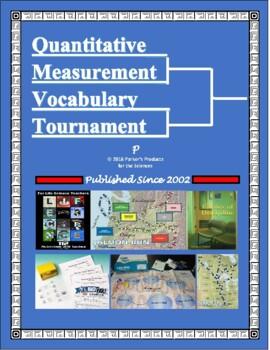 Quantitative Measurement Vocabulary Tournament Madness Bracket Challenge!