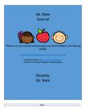 Quantitative & Qualitative Observation Homework