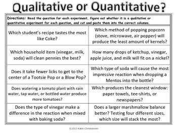 Quantitative and Qualitative Review Pack