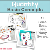 Quantity Concepts All Some None Several Many Few