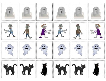 Quantity Concepts for Halloween