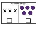 Quantity Discrimination Book- Which is bigger?
