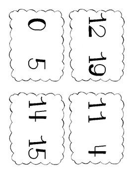 Quantity Discrimination Flashcards - MCLASS Practice