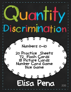 Quantity Discrimination Fluency Practice