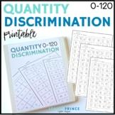 Quantity Discrimination Fluency Practice Pages