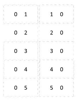 Quantity Discrinmation Flash Cards