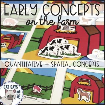 Quantity Farm: Quantitative and Spatial Concepts