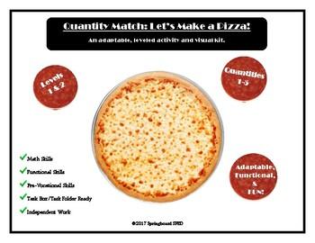 Quantity Match: Let's Make a Pizza!