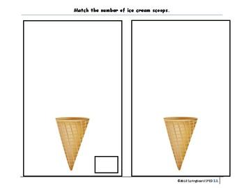 Quantity Match (Level 2): Folder Game
