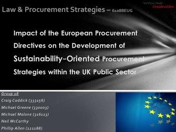 Quantity Surveying - Construction Law and Procurement Strategies - Presentation