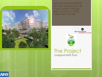 Quantity Surveying - QS Technology - Proposed Project Pres