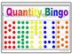 Quantity and Number BINGO