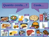 Quanto costa (Cost in Italian) power point activity