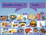 Quanto costa (Cost in Italian) power point activity