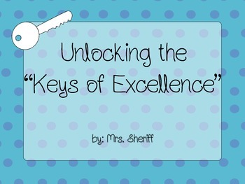 "Quantum Learning ""Keys of Excellence"" Poster"