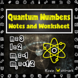 Quantum Numbers Notes and Practice Worksheet