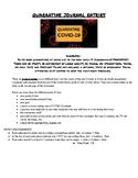 Quarantine Journals - Varying POV