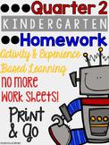 Quarter 2: Kindergarten Homework