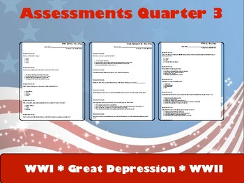 Assessments Quarter 3