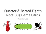 Quarter & Barred Eighth Note Bug Game Flashcards - Free Preview
