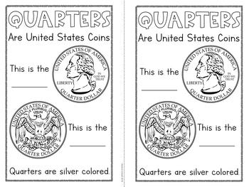 Coin Identification Book - Quarter