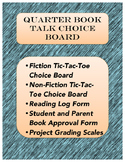Quarter Book Talk Choice Boards