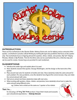 Quarter Dollar: Making Cents