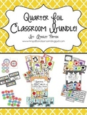 Quarter Foil Classroom Decor Bundle Set!