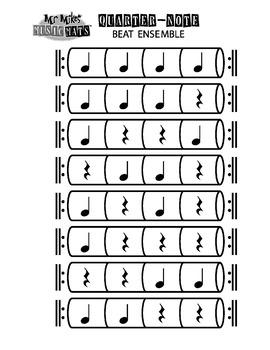 Quarter Note Beat Ensemble ( Conductor Score )