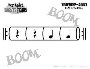 Quarter Note Beat Ensemble / Part Two / MrMikesMusicMats