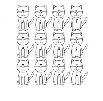 Quarter Note Cats