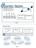 Quarter Note Theory Mini-Book