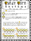 Halloween Rhythms - Quarter Notes and Eighth Notes:  Candy
