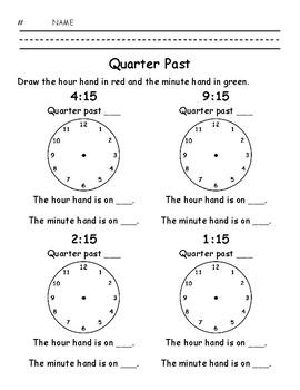 Quarter Past