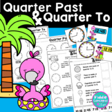 Quarter Past and Quarter To Worksheets and Activity