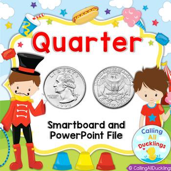 Quarter PowerPoint Lesson