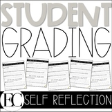 Student Grade Reflection Self Assessment