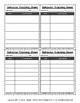 Quarter-Sheet General Behavior Tracking Sheet
