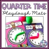 Quarter Time Superhero Playdough Mats