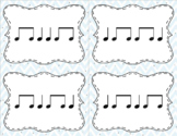 Quarter/eighth note flash cards