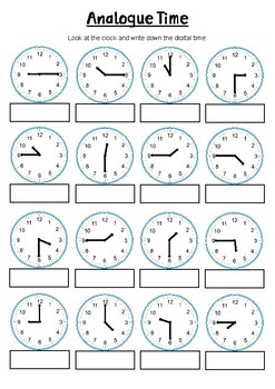 quarter half and o 39 clock year 2 3 4 time worksheet by resourceful classroom. Black Bedroom Furniture Sets. Home Design Ideas