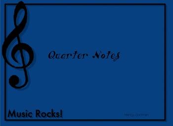 Quarter notes flashcards