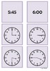 Time - 3 o'clock to 6 o'clock by 15 minute intervals