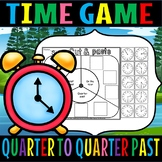 Quarter past/on the hour/half past