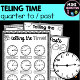 Quarter-to and Quarter-past Worksheets