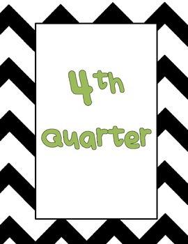 Quarterly Binder Covers